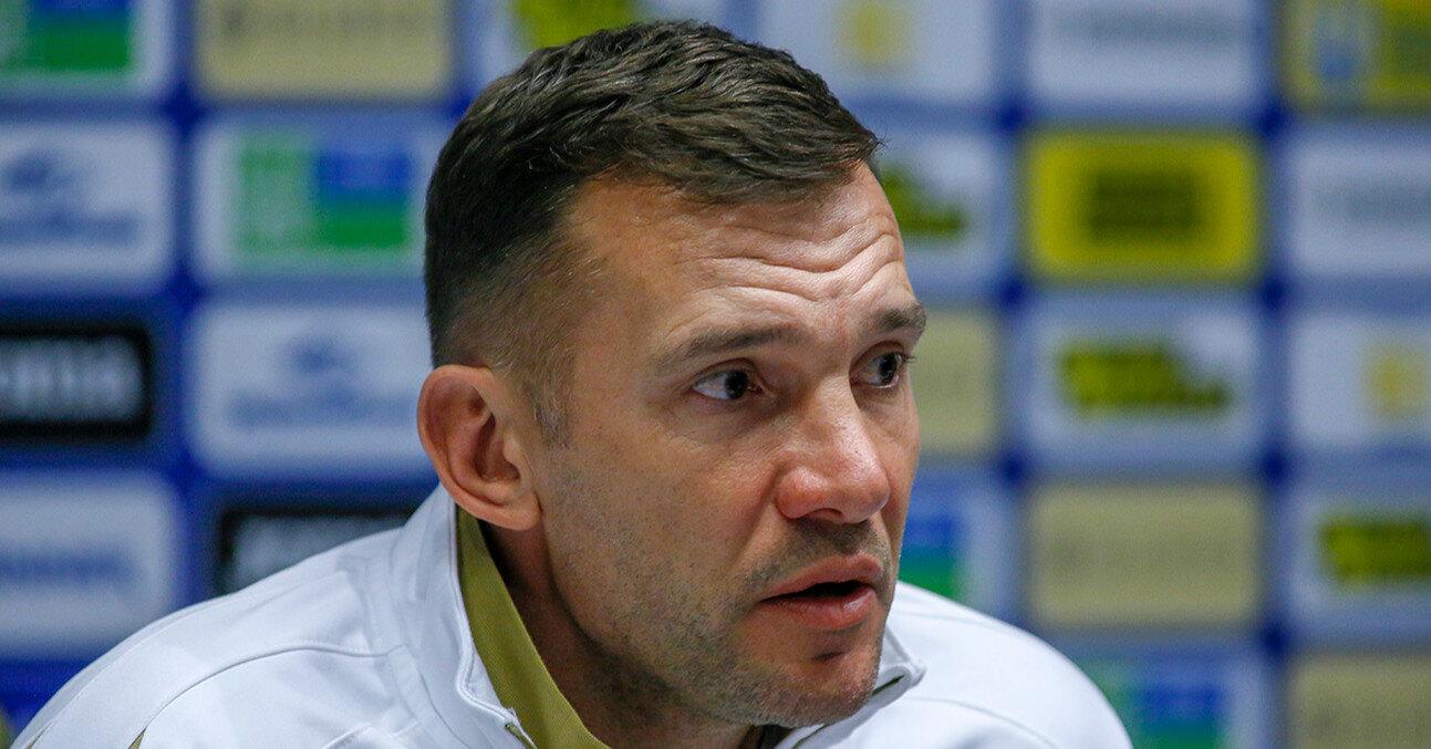 Шевченко включили в десятку лучших тренеров Евро-2020