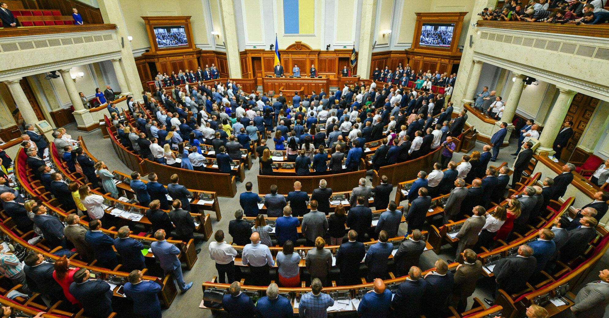 Рада рассмотрит законопроект Зеленского об олигархах в четверг