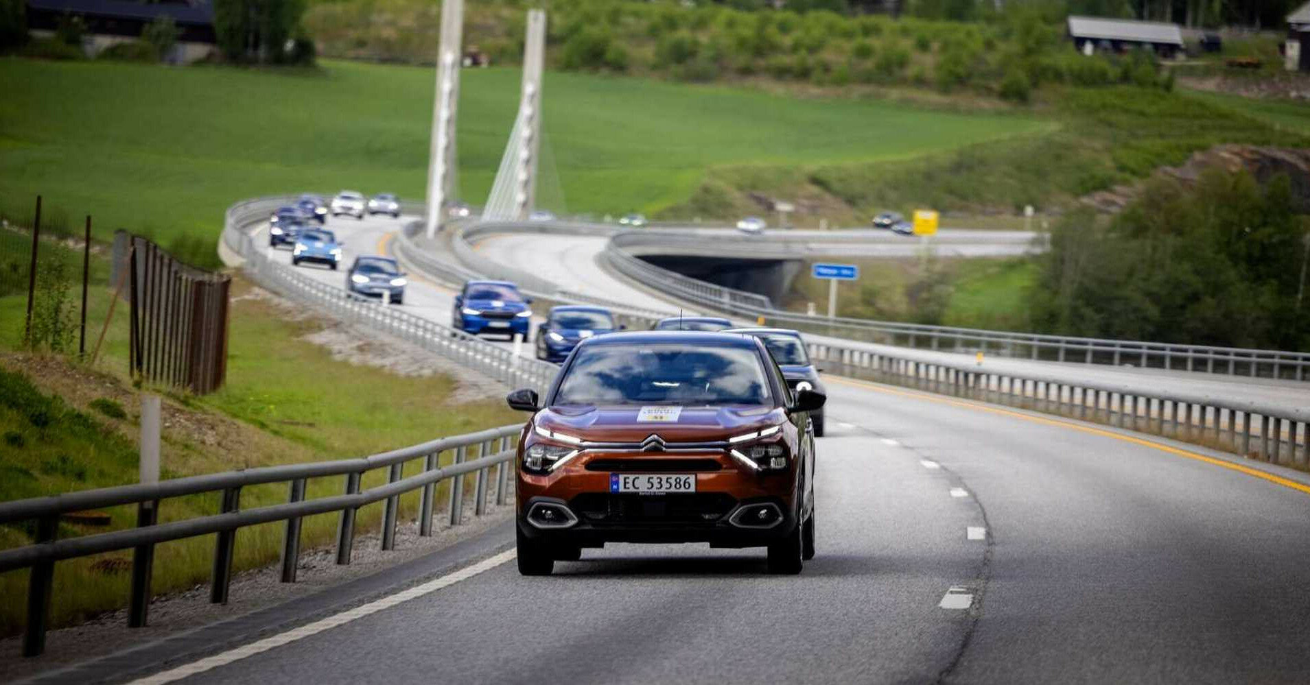 Установлен реальный запас хода популярных электромобилей