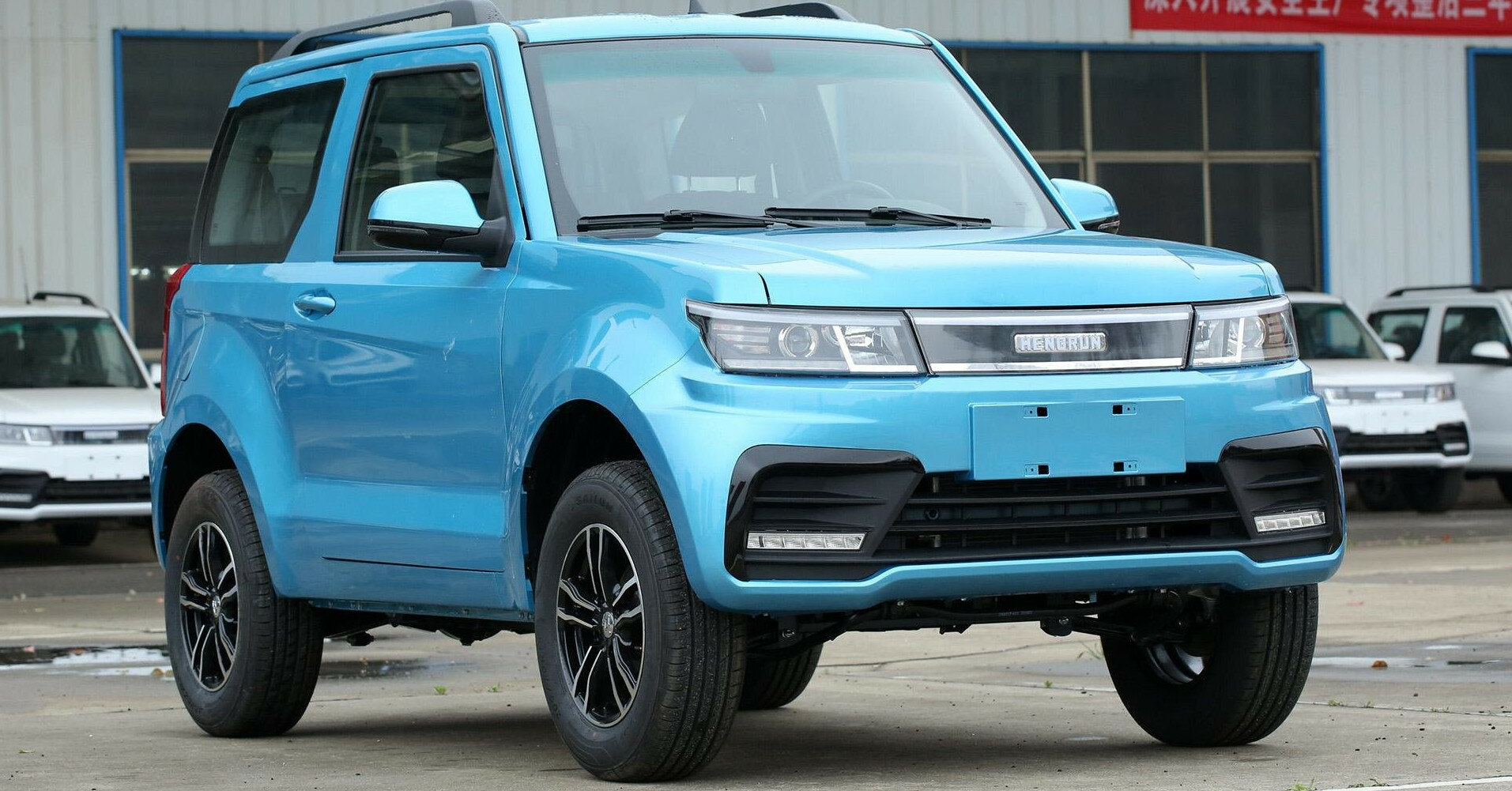 Китайцы показали дешевую альтернативу Suzuki Jimny
