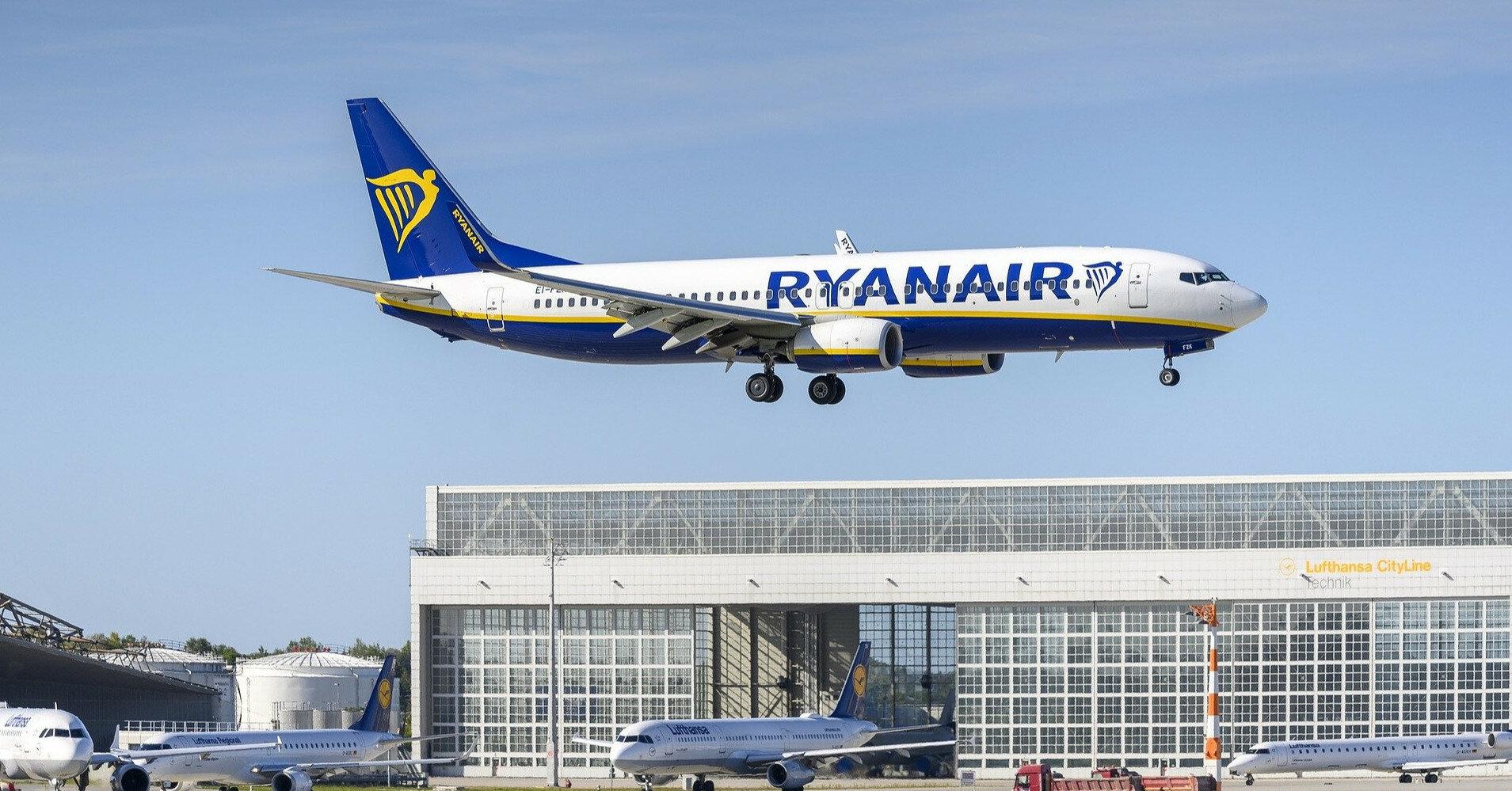 Ryanair запускает первый прямой рейс из Киева в Турин