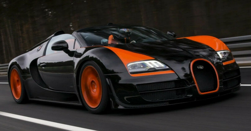 В Украине появился первый Bugatti Veyron