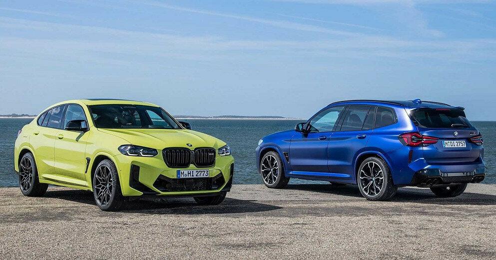 BMW показала обновленные кроссоверы