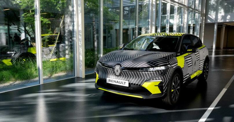 Renault показала электрический Megane
