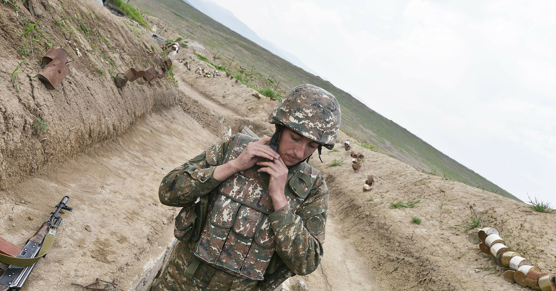 На границе Азербайджана и Армении возникла перестрелка