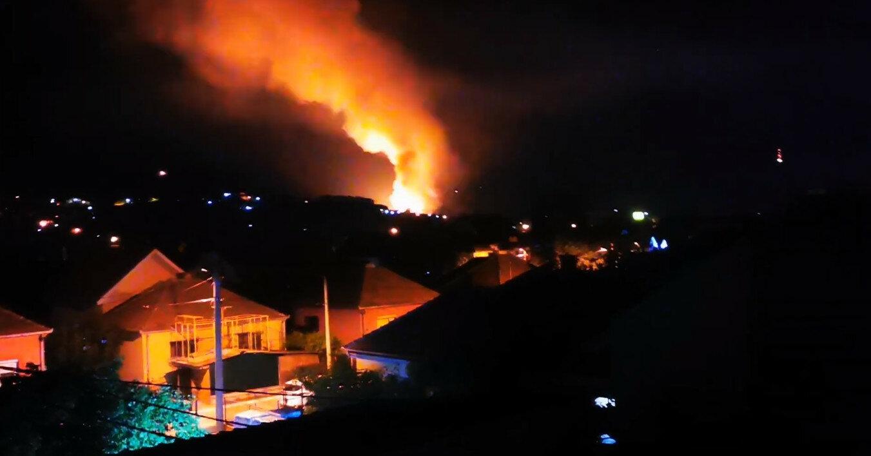 На оружейном заводе в Сербии произошел пожар и звучали взрывы