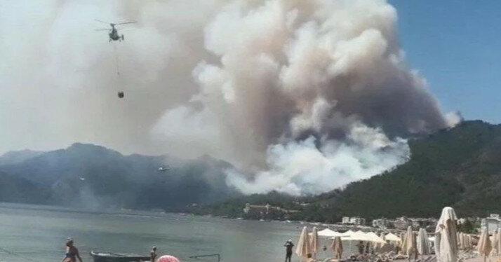 У Туреччині вирують пожежі: є перша жертва (відео)