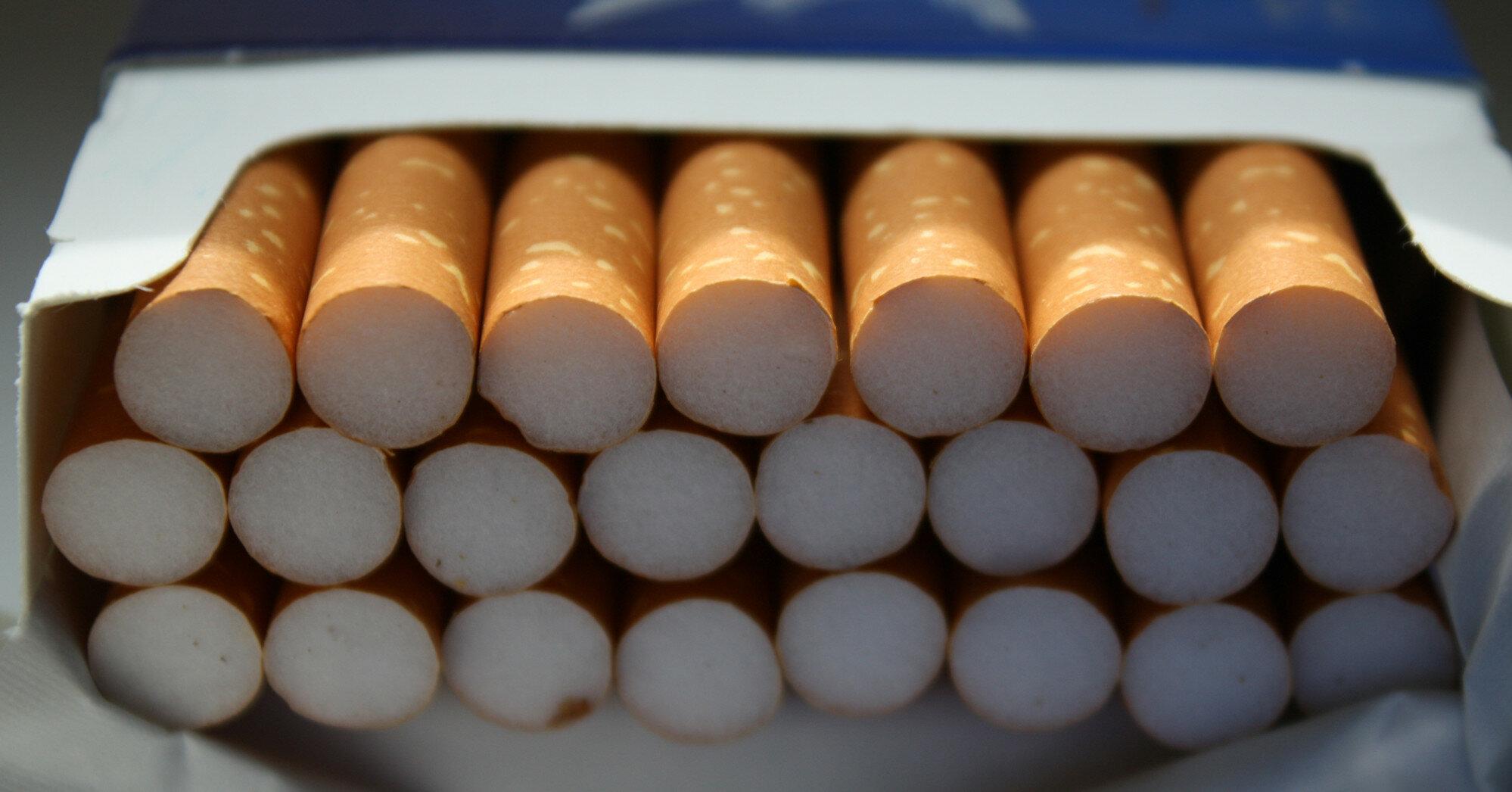 Фальсификат сигарет достиг рекордного показателя