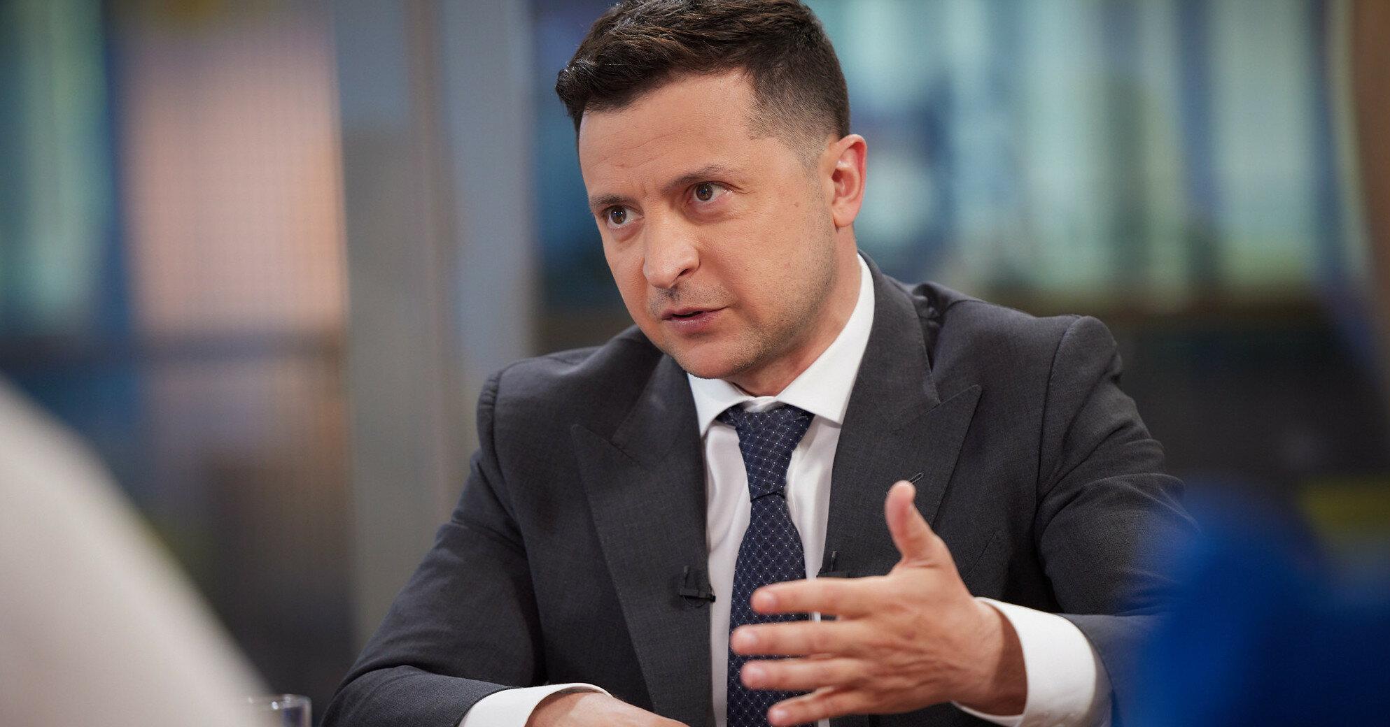 Зеленский назвал условие вынесения закона об олигархах на референдум