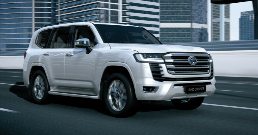 Toyota Land Cruiser 300 представлен официально