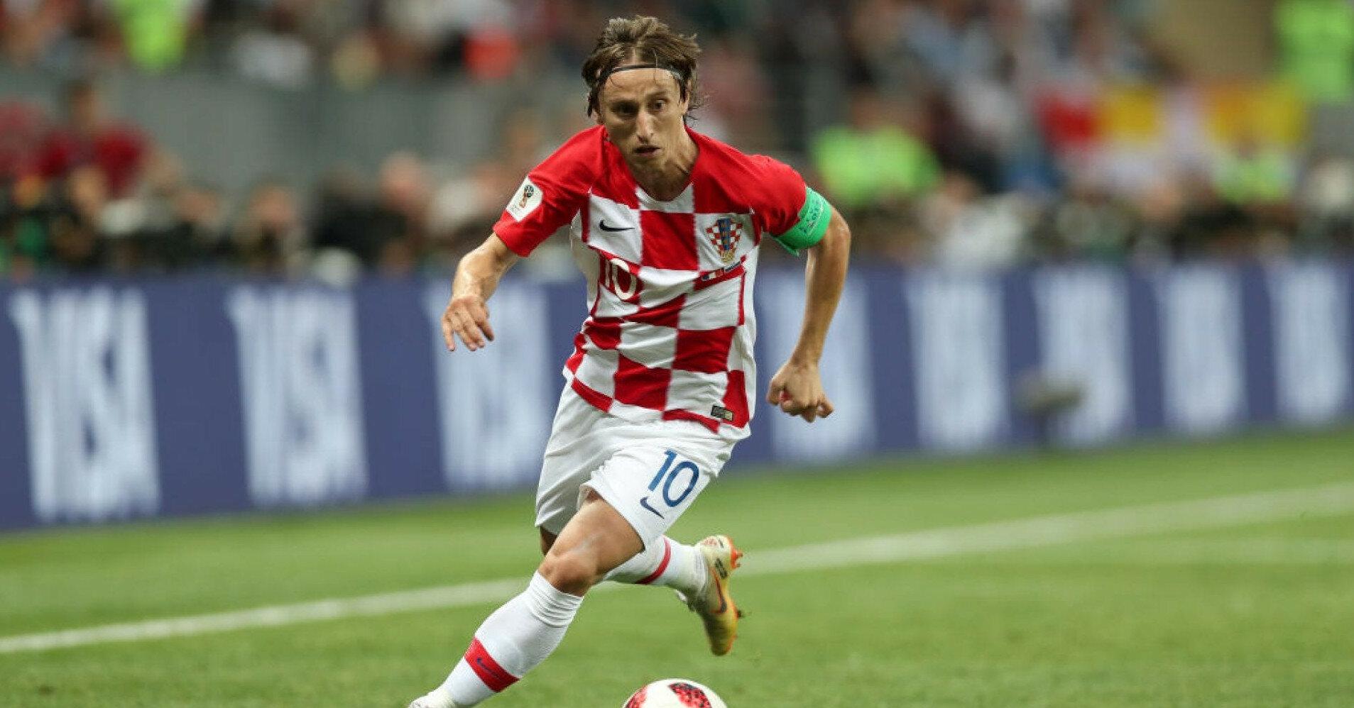 Модрич завершил карьеру в сборной Хорватии
