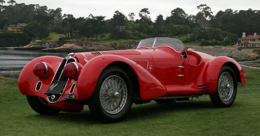 10 самых красивых автомобилей в истории