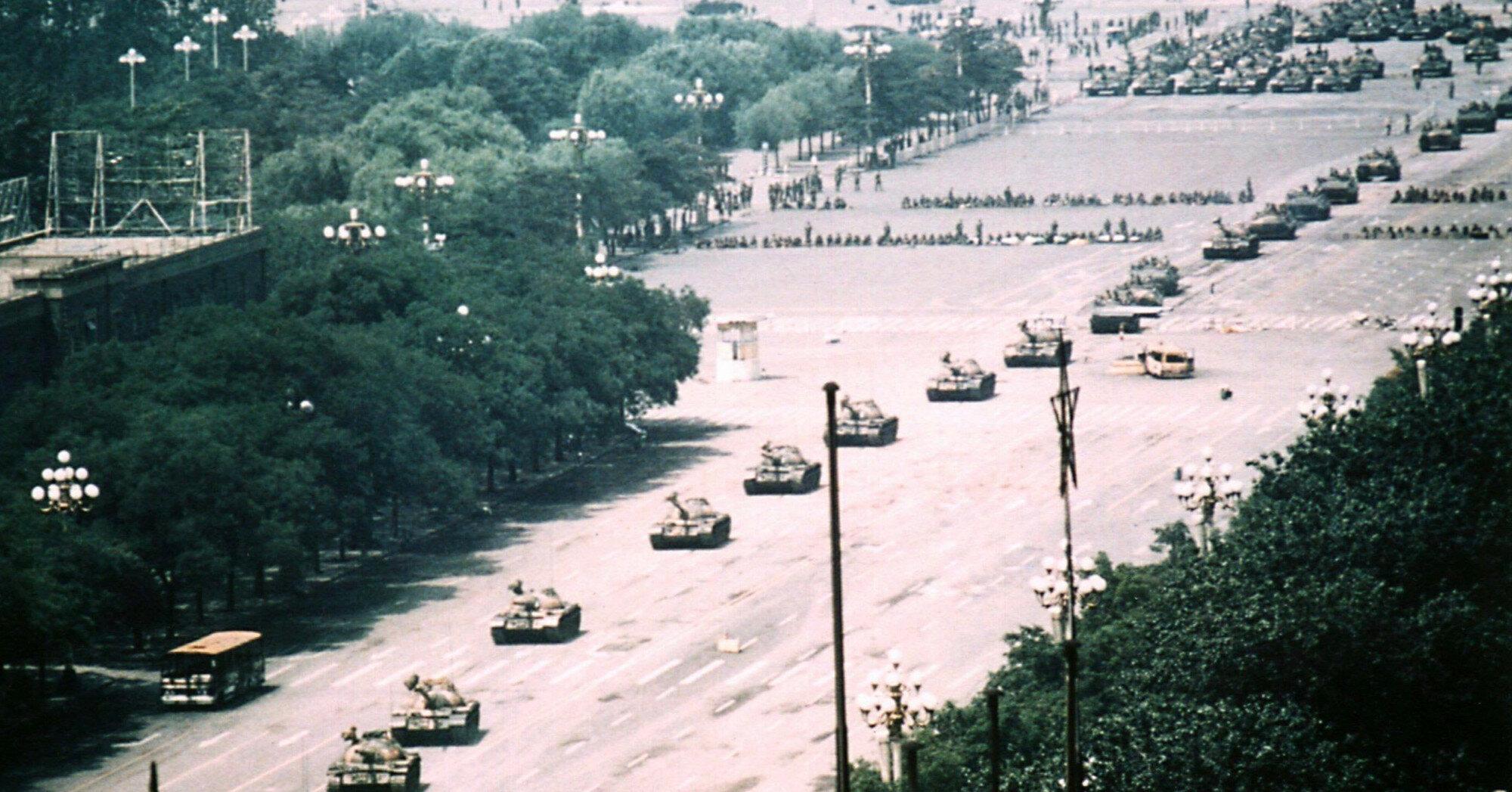 В Китае нервно отреагировали на годовщину событий на площади Тяньаньмэнь