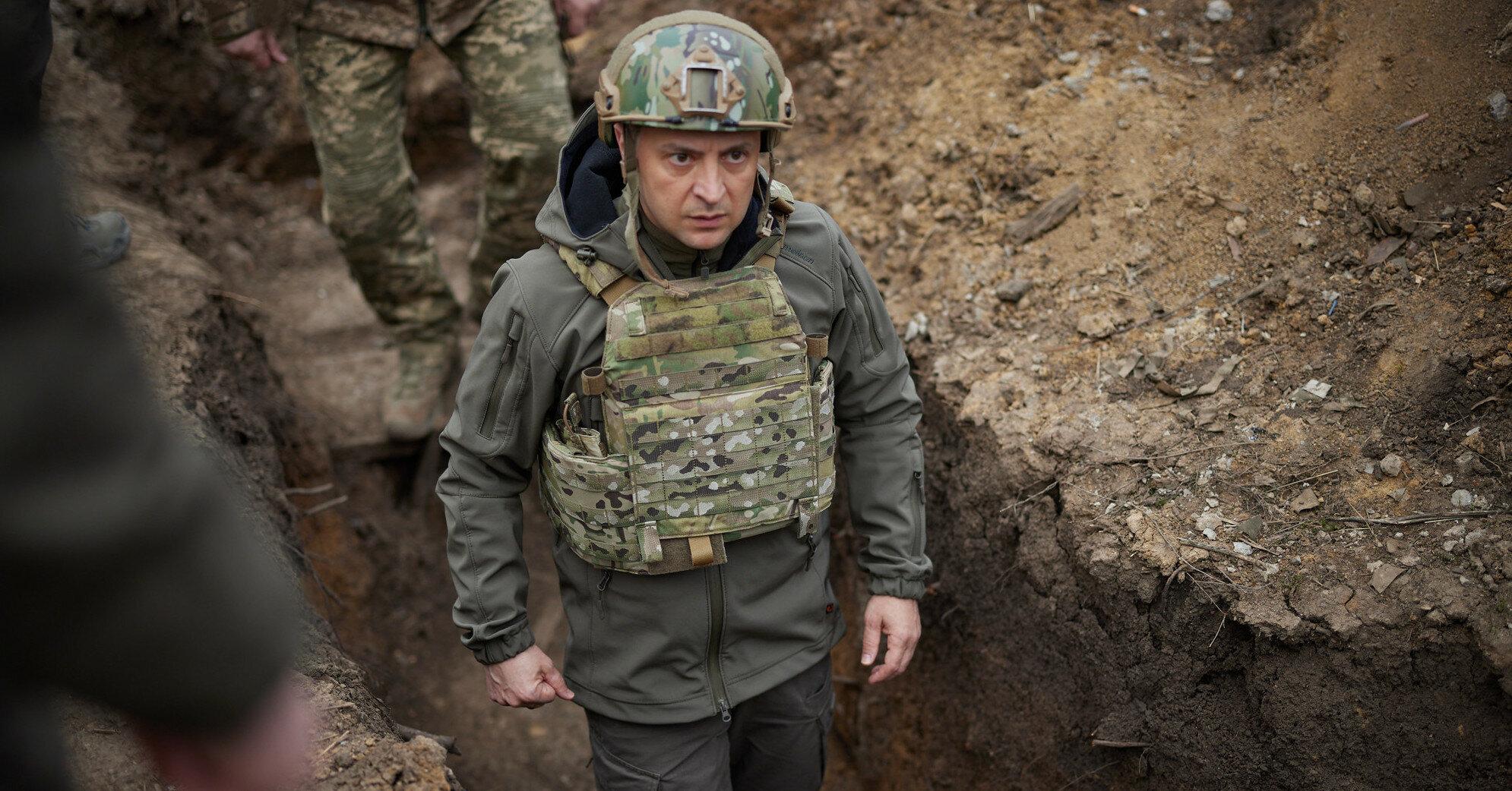 Решение о стене с Донбассом должны принять украинцы - Зеленский