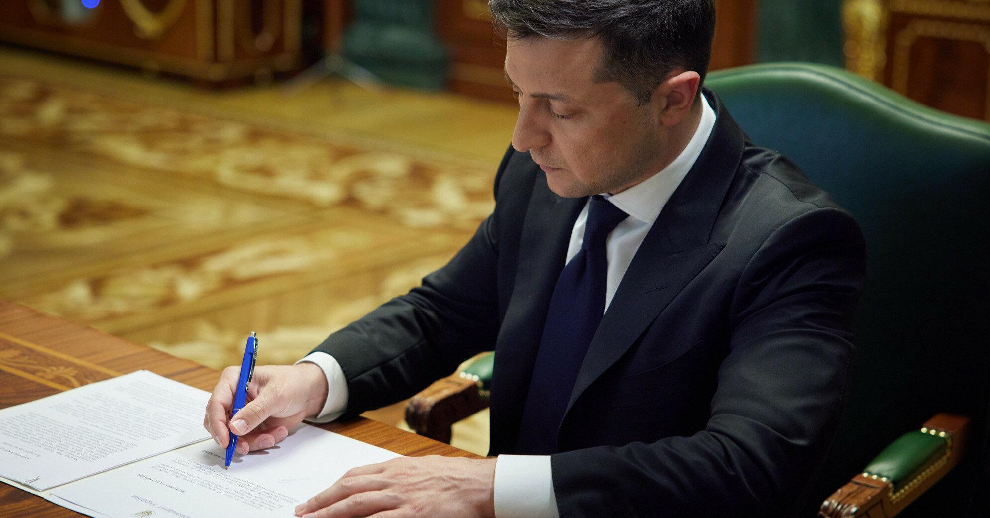 Зеленский ратифицировал соглашение по сотрудничеству с США в сфере технологий