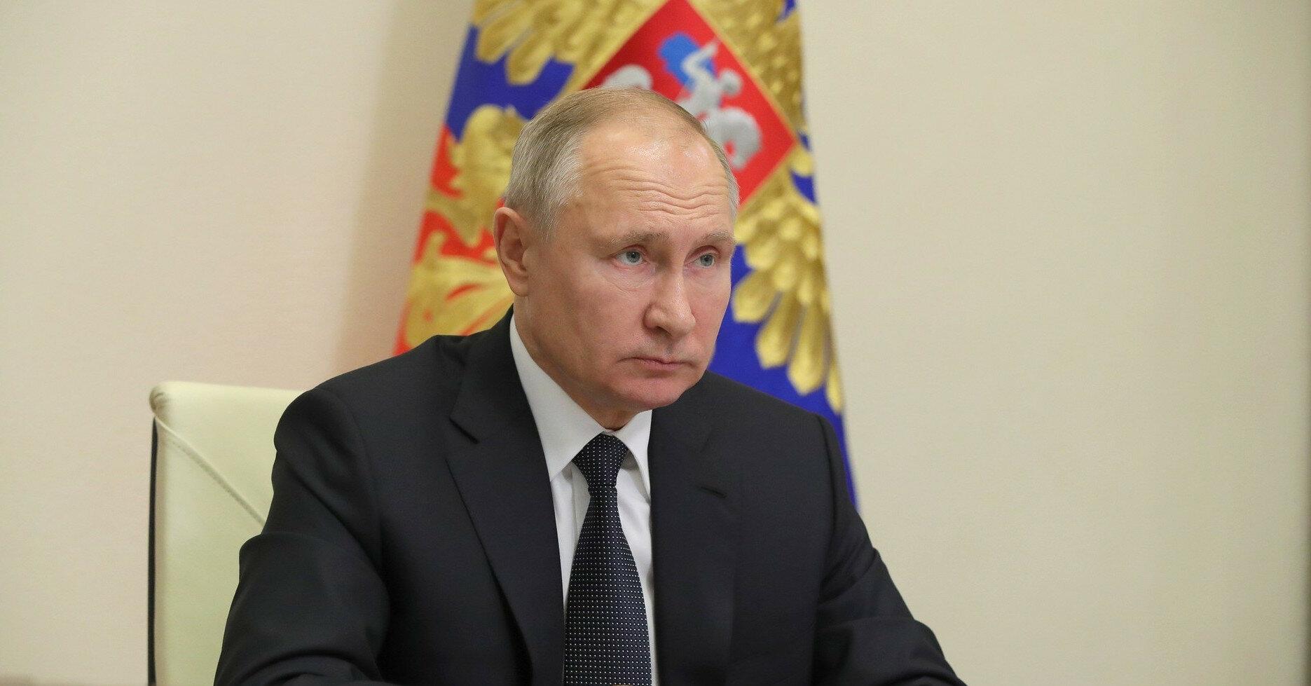 Путин ветировал законопроект о пожизненной ответственности главных редакторов