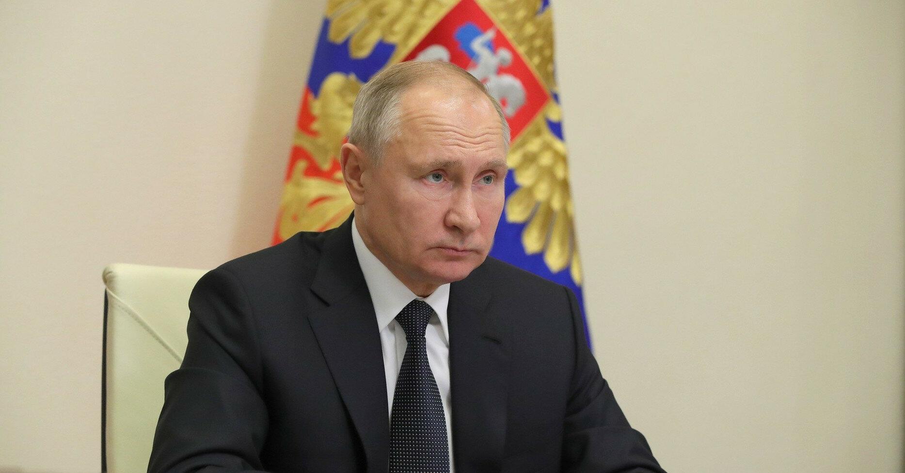 """Путин на съезде """"Единой России"""" призвал вакцинироваться"""