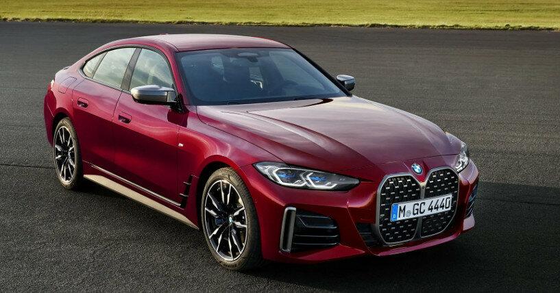 BMW представила спортседан 4-Series Gran Coupe