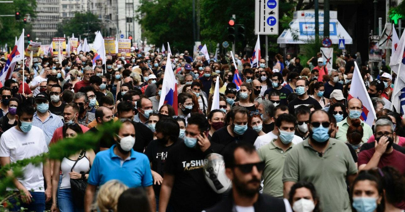 В Греции бастуют против сокращения рабочей недели