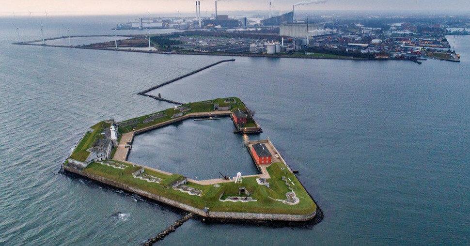 В Дании решили создать гигантский остров