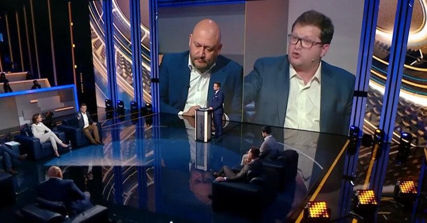 """Нардеп от """"ЕС"""" Арьев и экс-депутат Добкин поругались в прямом эфире"""