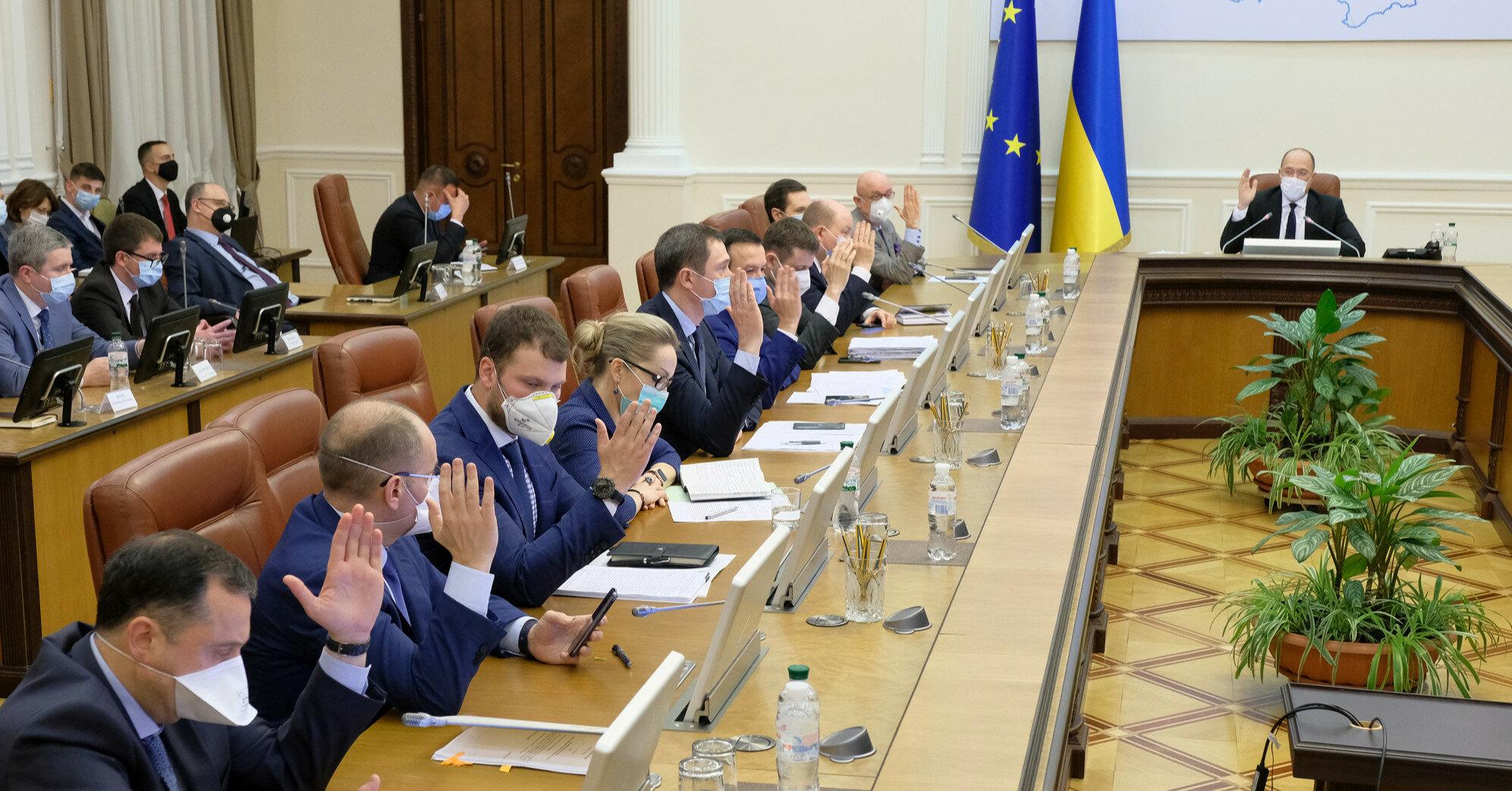 Кабмин одобрил введение санкций за оправдание агрессии РФ