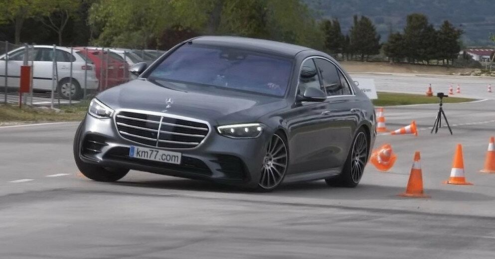 Новый Mercedes S-Class провалил тест на безопасность