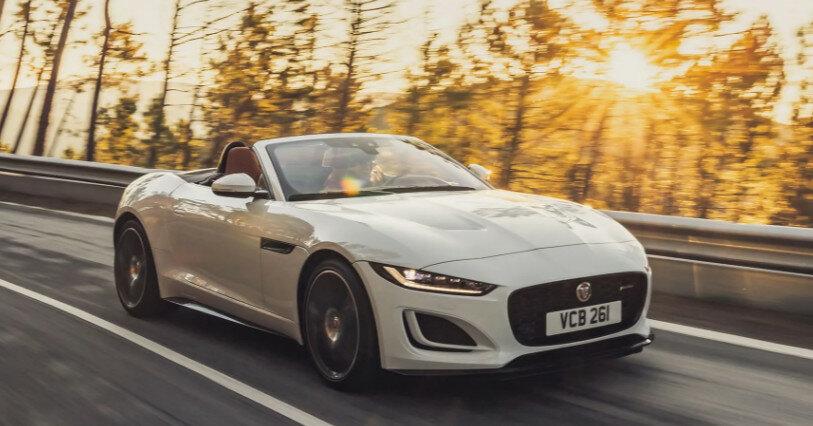 Jaguar представила новые версии спорткара F-Type