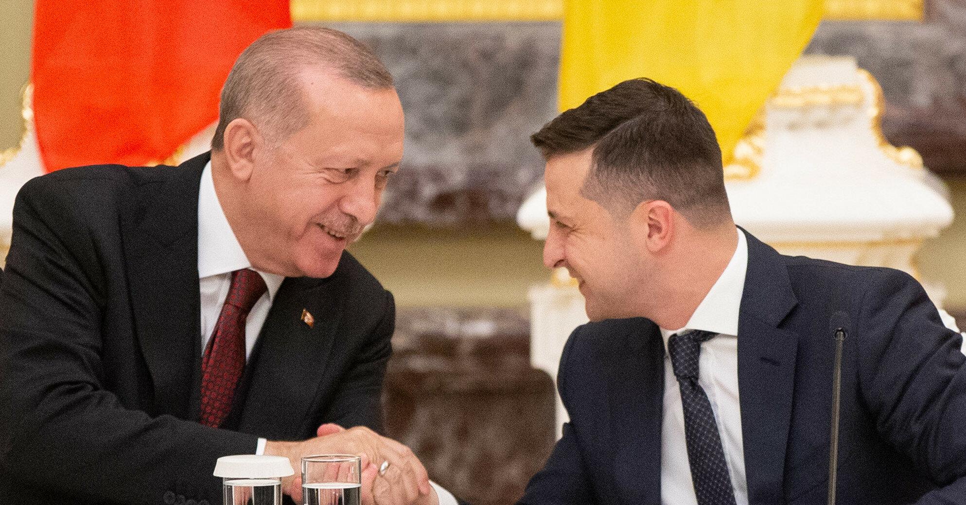 Эрдоган жаловался Зеленскому на шантаж со стороны Путина
