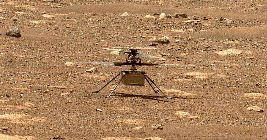 Ingenuity налетал над Марсом почти километр