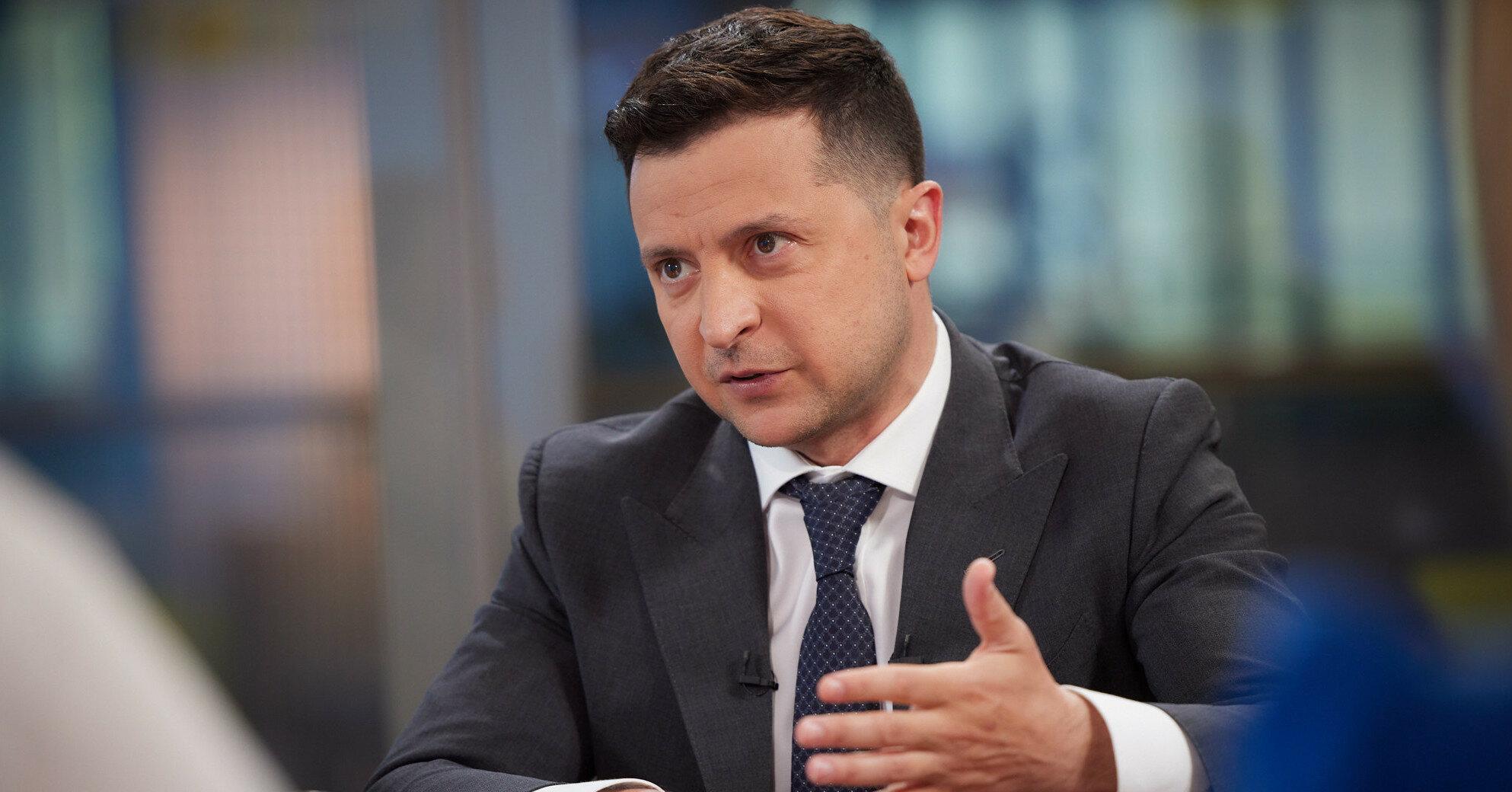 """Зеленский назвал законопроект об олигархах """"выстрелом в воздух"""""""