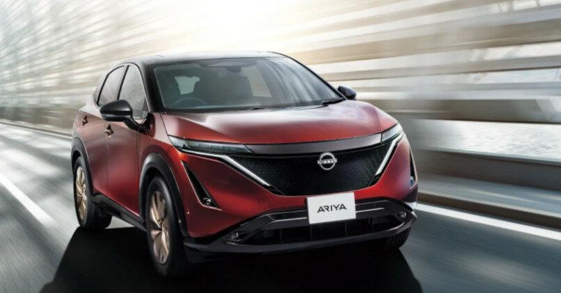 Nissan анонсировала цену на кроссовер Ariya