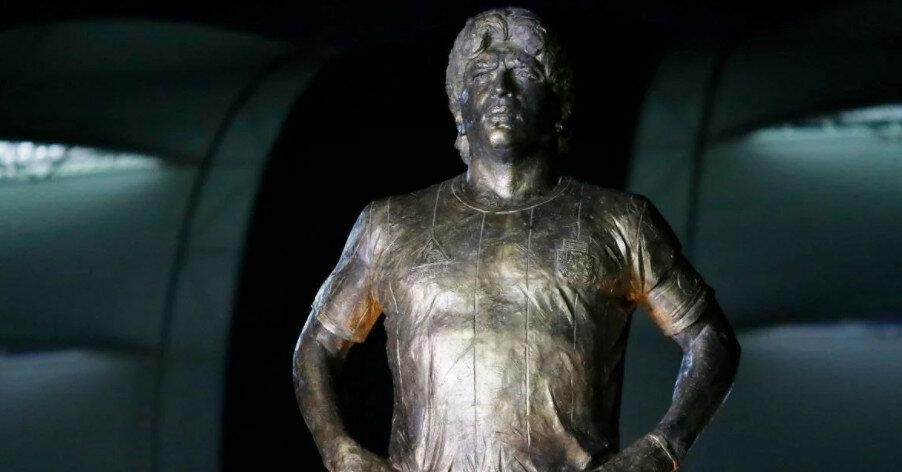 Диего Марадоне открыли памятник