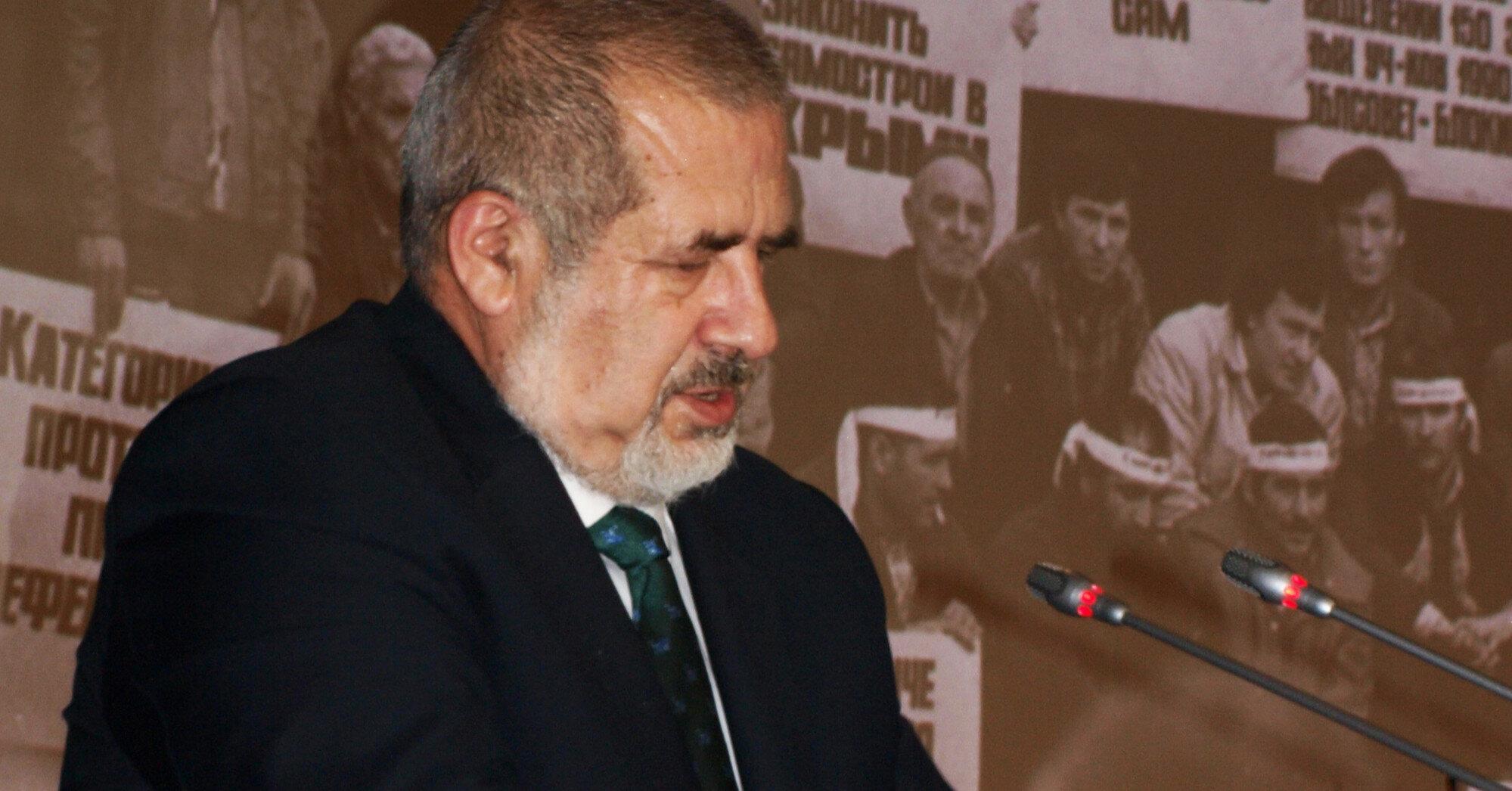 В Крыму незаконно осудили главу крымскотатарского Меджлиса