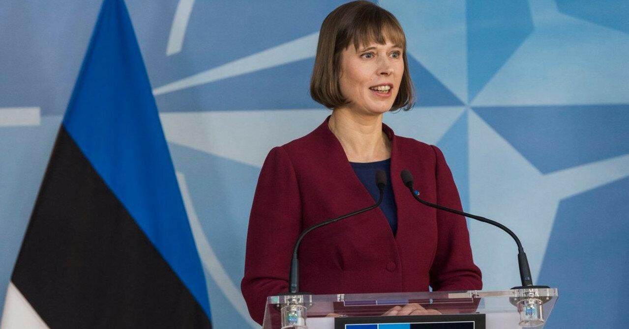 Президента Эстонии назначили всемирной защитницей женщин и детей