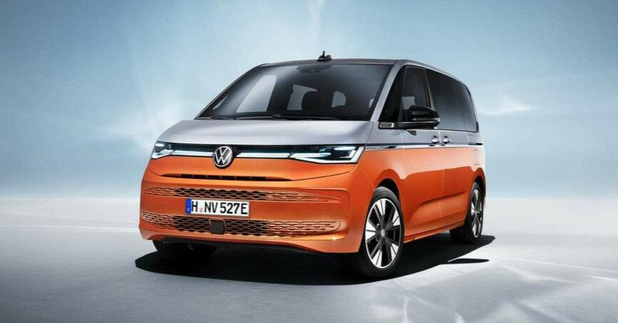 Volkswagen представил совершенно новый Multivan