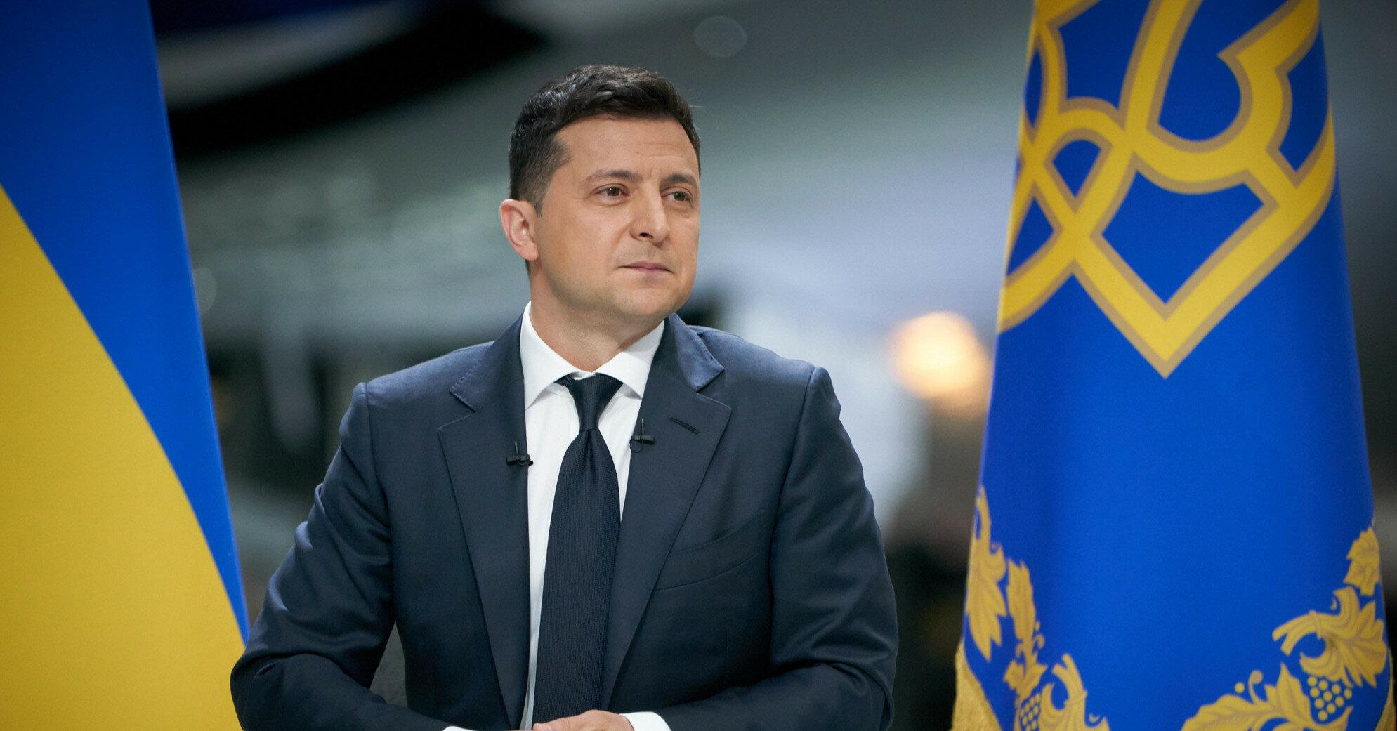 Законпроект Зеленского о большом гербе зарегистрировали в Раде