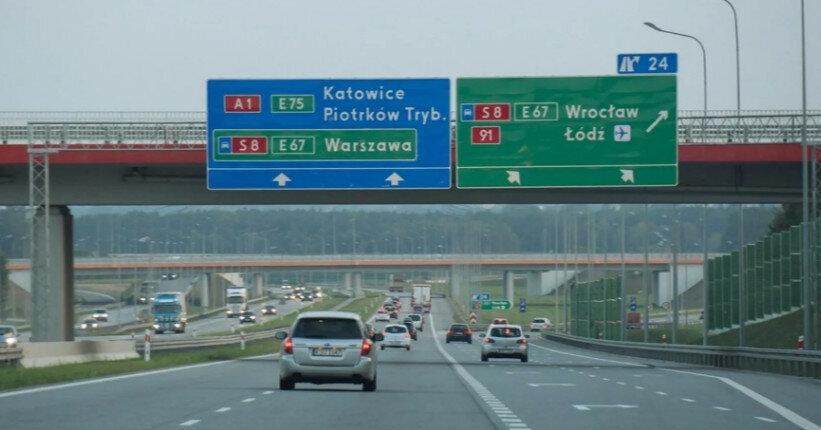 За что автомобилиста могут оштрафовать в Польше