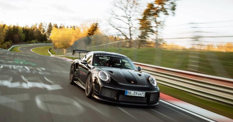 Porsche установил новый рекорд Нюрбургринга