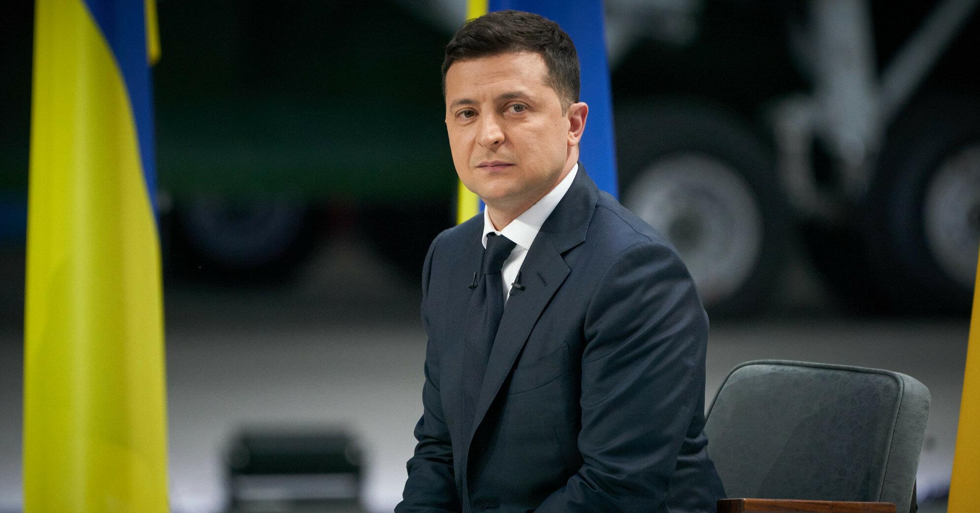 Зеленский отреагировал на поражение сборной Украины