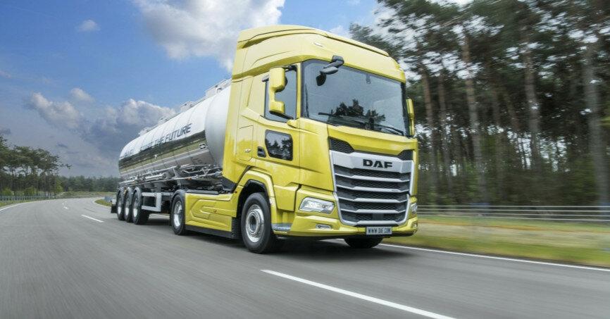 DAF представила абсолютно нові вантажівки