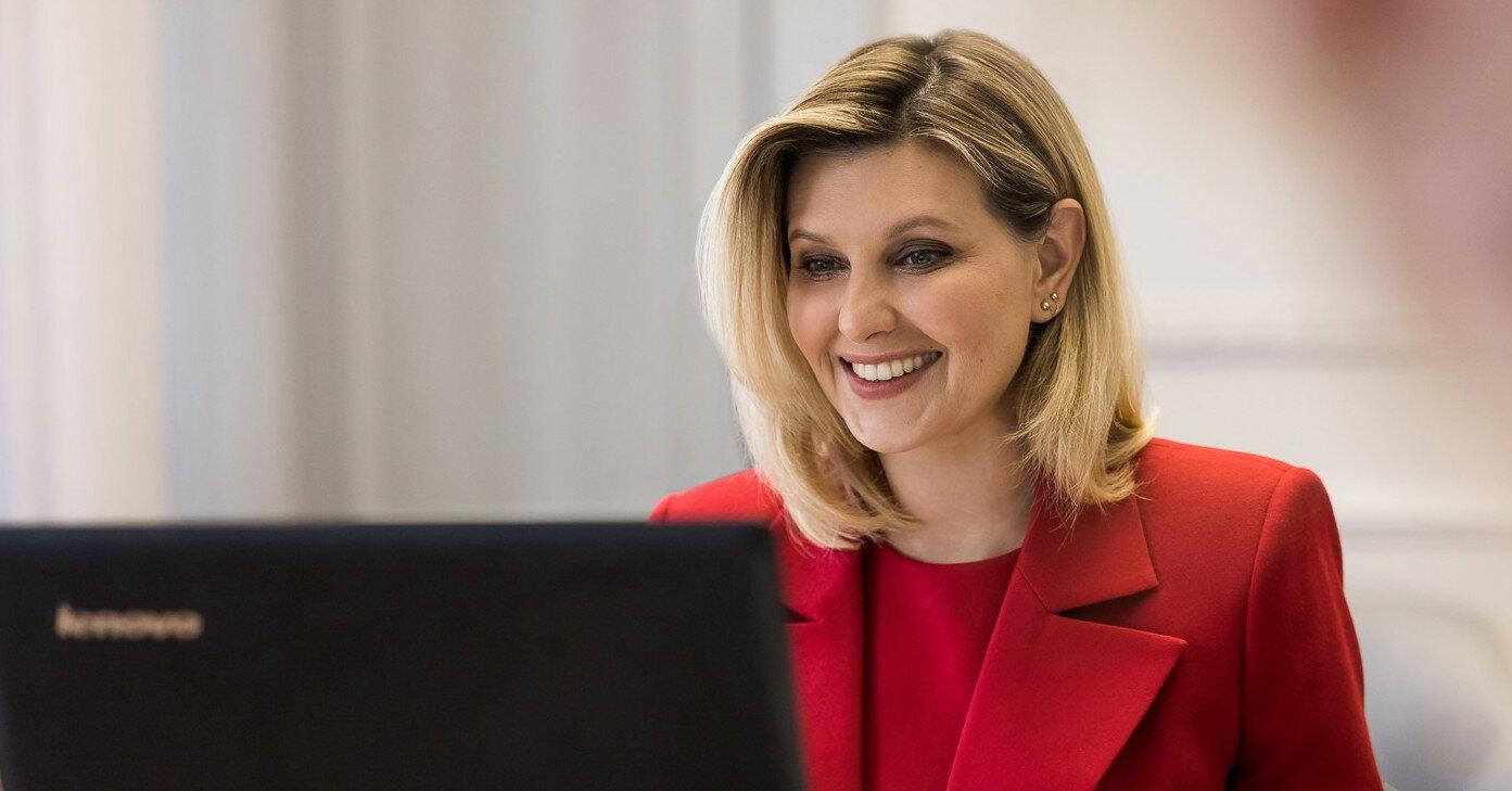 Олена Зеленська хоче створити Офіс першої леді