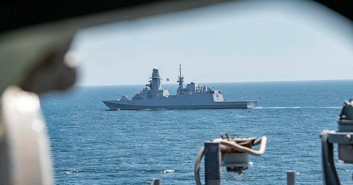 В Балтийском море начались военные учения стран НАТО