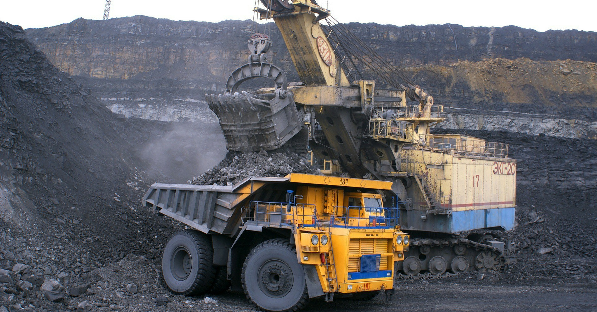Запасы угля на складах ТЭС значительно сократились