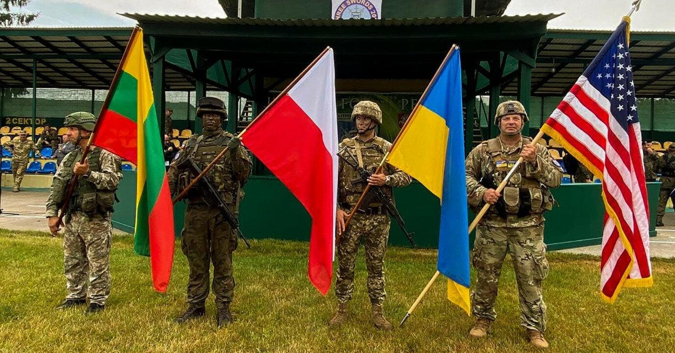 """В Україні почалися спільні військові навчання """"Три меча"""""""