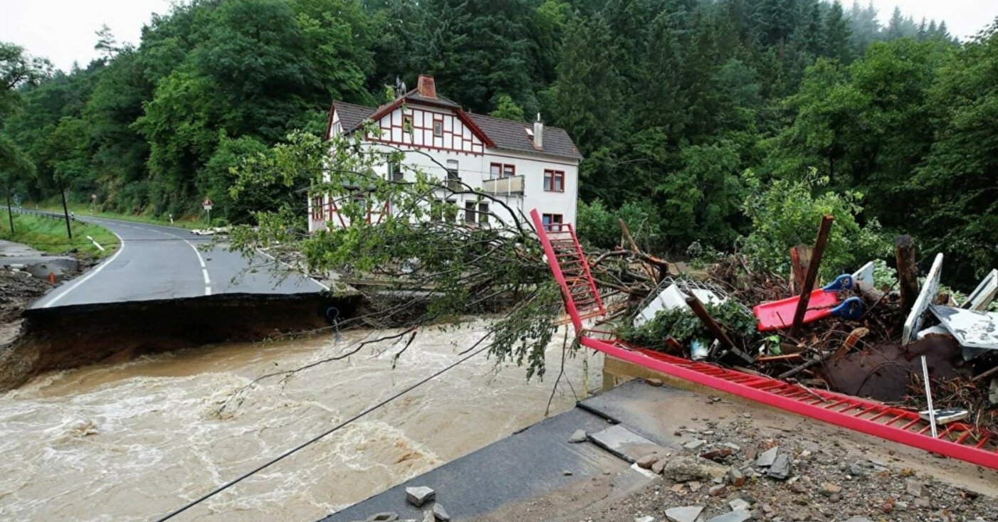 Наводнение в Германии: пропали без вести более тысячи человек