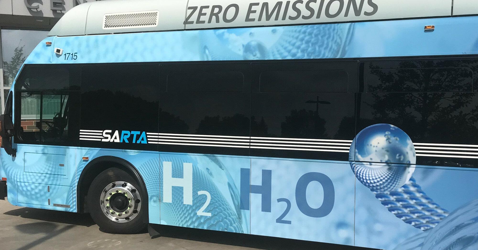 Кабмин поддержит использование водородного транспорта в Украине