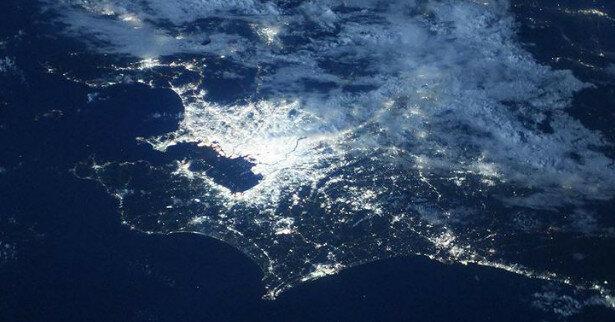 Астронавт показал олимпийский Токио из космоса