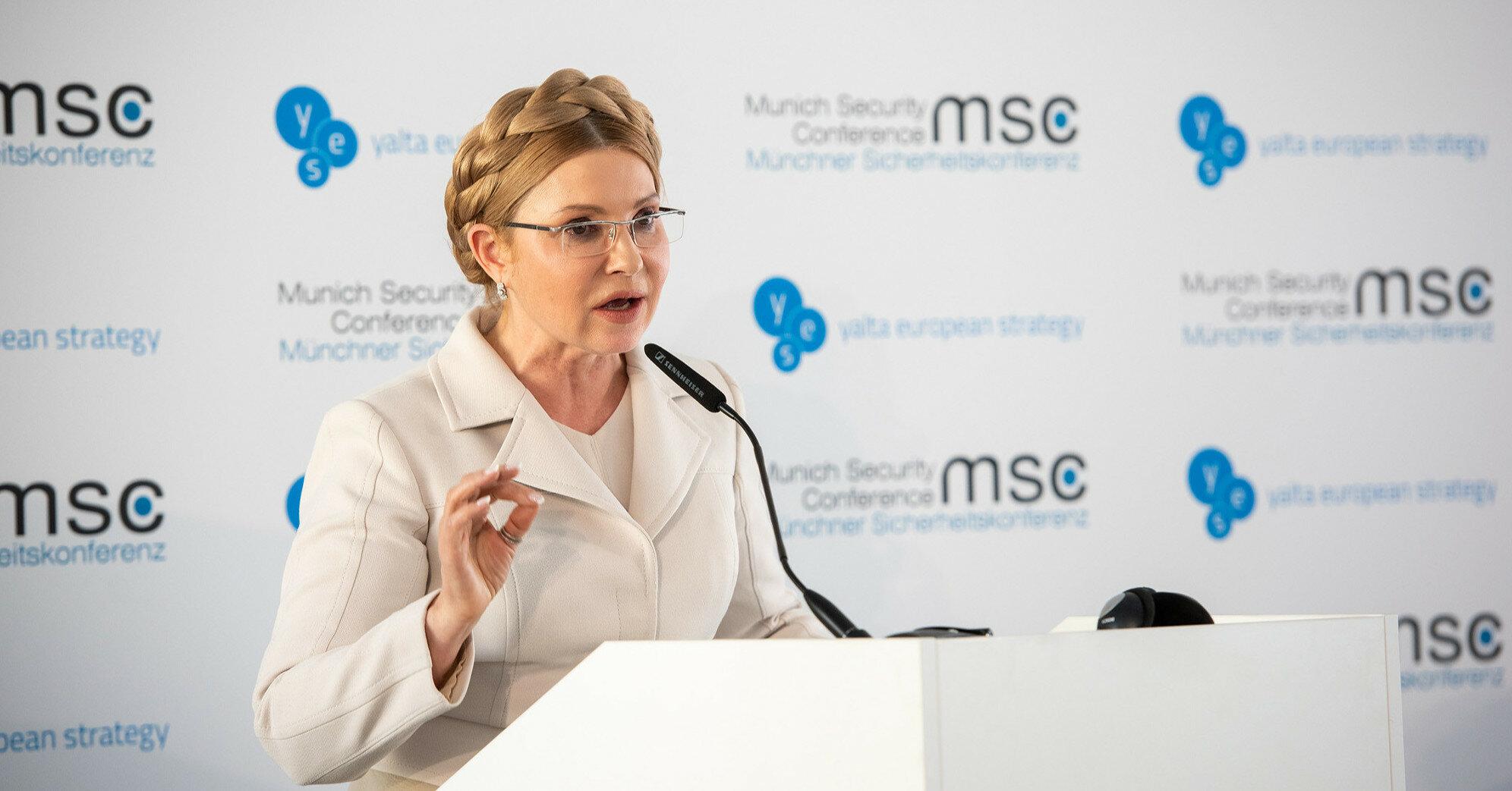 "Тимошенко назвала Зеленского ""талантливым человеком"""