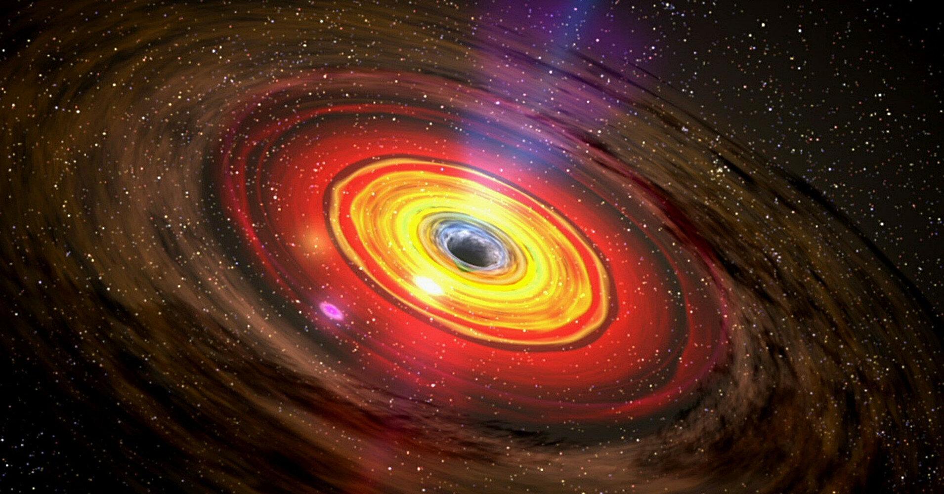 Телескоп Hubble сделал фото сразу двух огромных галактик